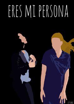 """Anatomia de Grey  """"eres mi persona""""  Littleboj ilustración"""