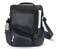 "Samsonite Road Warrior 17/"" Laptop MacBook Pro Black Backpack RFID Pocket New"