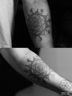 Sacred Geometry - Seed of Life - Moon Phases Tattoos - Ink