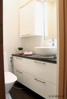 Home White Home: Suunnittelukohteeni: Pikkuwc:n muutos