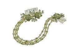 #crystalcreationstiaras #wedding #bride #tiara #headdress #comb #hairvine #headband #forehead #browband #handmade #drape #flower #floral #diamante #crystal #pearl #kent #uk #london