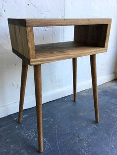 Mid Century Modern inspired handcrafted wood von GroveAndAnchor