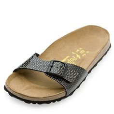 f46a8be2848 Papillio by Birkenstock Madrid Sequin Print Sandal - QVC UK