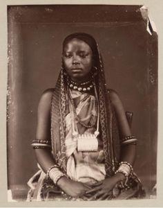 Zanzibari woman of high rank. The Humphrey Winterton Collection of East African Photographs: 1860-1960