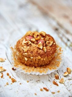 Find a recipe for dairy free apple muffins from Jamie Oliver; whether you're after a breakfast treat or a snack, these dairy free muffins are a real crowd pleaser. Fruit Recipes, Muffin Recipes, Sweet Recipes, Breakfast Recipes, Breakfast Ideas, Country Breakfast, Breakfast Menu, Breakfast Muffins, Snacks Recipes