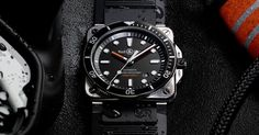 THE FIRST SQUARE  DIVING WATCH FROM BELL & ROSS