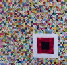 Tiny Pieces - Tiny Quilt