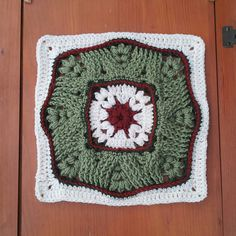 """Ravelry: Puff Wheat 12"""" Afghan Block and Cushion extension pattern by Margaret MacInnis"""