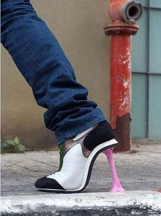 Sem Freio No Mundo Da Moda: Sapatos Estranhos e Engraçados PARTE 01