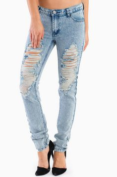 La Cienega Low Rise Jeans