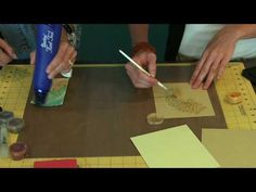 ▶ Perfect Pearls Demonstration- Using Tim Holtz Distressed Ink - YouTube