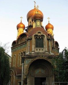 Russian Church of St. Nicholas (Built between 1905-1909) in Bucuresti - Romania