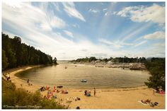 What a lovely day in Oslo:) How about swimming at Bygdøy sjøbad?