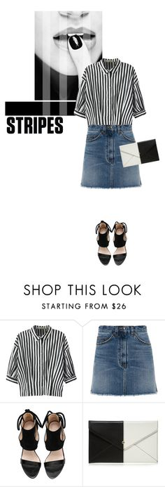 """""""One Direction: Striped Shirts"""" by hajni0103 ❤ liked on Polyvore featuring Relaxfeel, Marc by Marc Jacobs, Red Herring and stripes"""