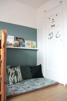 We live in a tiny cute house so the twin boys sleep in one room and they like it! Its their cozy place with a pretty reading nook with their favorite books in Girl Room, Girls Bedroom, Bedrooms, Cool Kids Rooms, Cute House, Cozy Place, Reading Nook, Kid Spaces, Room Decor