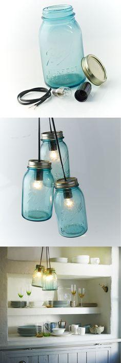 Lámparas recicladas. Hermosas creaciones que considero hacerlas algún día