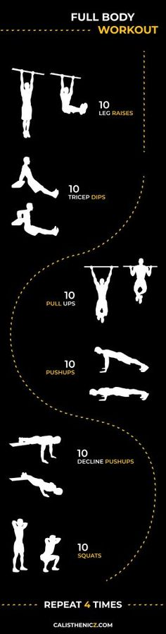 Looking for the best Calisthenics Workouts? Here's an awesome bodyweight only workout that you can do anywhere! Looking for the best calisthenics workouts? Here's a great bodyweight workout that you can do anywhere! # Body Weight Training out Fitness Workouts, Training Fitness, Gym Workout Tips, Weight Training, At Home Workouts, Weight Workouts, Body Workouts, Workout Body, Body Training