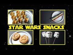 Easy Stormtrooper Snacks for Star Wars Fans - YouTube