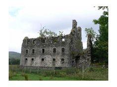 not Roman ruins, Bernera Barracks, Glenelg, Scotland