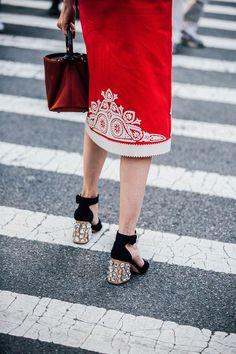 Street Style: New York Fashion Week - Vogue.it