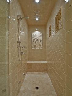 Small Narrow Shower Rooms Toilet On Outside Wall