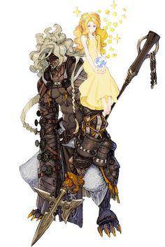 Djugan the Discerning from Terra Battle #illustration #artwork #gaming #videogames #gamer