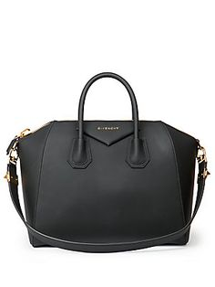 Givenchy Antigona Medium Faux-Leather Satchel