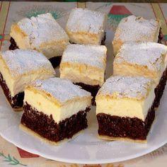 A világ legfinomabb túrós sütije, mire megiszod a kávéd, meg is sül! Baking Recipes, Cake Recipes, Dessert Recipes, Sweet Desserts, Healthy Desserts, Hungarian Desserts, Cheesecake Pops, Pan Integral, Sweet Pastries