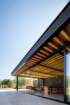 Image 22 of 30 from gallery of Distillery Terrace / 1540 Arquitectura. Photograph by César Béjar Gazebo, Pergola, Decorative Screens, Metal Structure, Distillery, Pavilion, Canopy, Terrace, Outdoor Structures