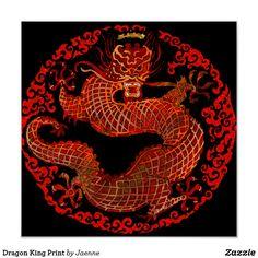 Dragon King Print