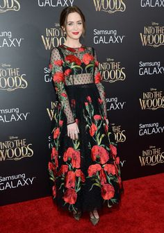 Emily Blunt and Anna Kendrick at Into the Woods Premiere | POPSUGAR Fashion