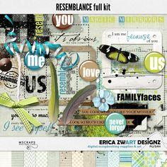 Resemblance full kit :: Full & Mini Kits :: Memory Scraps