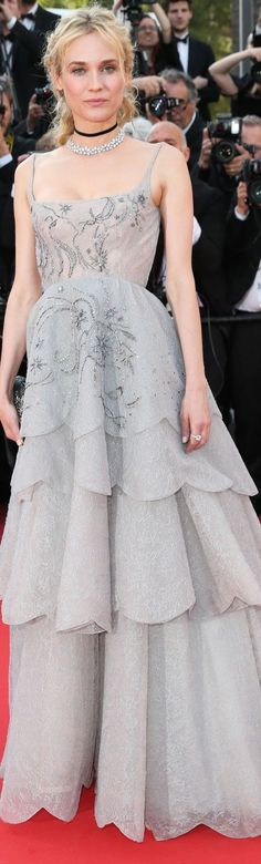 Diane Kruger in Dior Couture - Cannes 2017