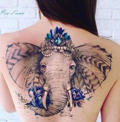 15 Best Elephant Tattoo Designs With Images | Styles At Life