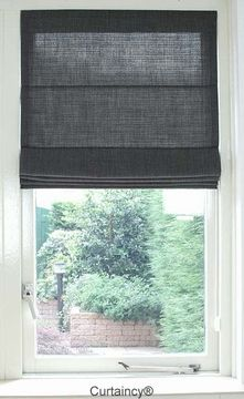 Big Window Curtains, Window Blinds & Shades, Drapes And Blinds, House Blinds, Interior Design Curtains, Patio Interior, Lights Over Dining Table, Blue Living Room Decor, Modern Blinds