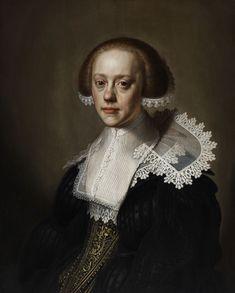 Johannes Cornelisz Verspronck (attr) Portrait of a young woman
