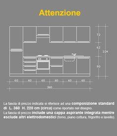 Risultati immagini per ALTEZZA PENSILI CUCINA | Dimension ...