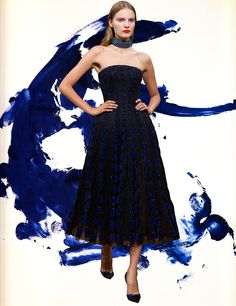 Dior Couture x Yves Klein