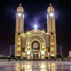 Religious Art, Virgin Mary, Big Ben, Jesus Christ, Egypt, Cathedral, Saints, Christian, Building