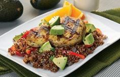 New post on my blog, check it out... Grilled Chicken and Avocado Quinoa Pilaf