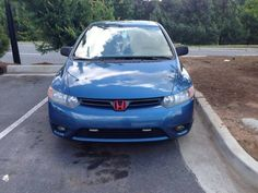 This domain may be for sale! Honda Civic For Sale, 2007 Honda Civic, Honda Cars, Exterior Colors, Colorful Interiors, Used Cars, Vehicles, Cutaway, Exterior Paint Colors