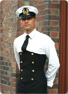 male corsetry | Sailor | Male Corsets