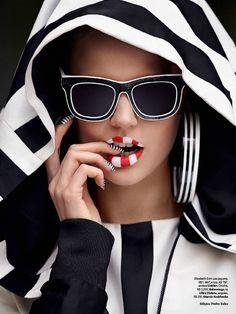http://sandroka-eamigasnamoda.blogspot.com.br/: Elisabeth Erm por Zee Nunes para Vogue Brasil junho 2014