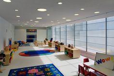 primetime nursery school interior by Marcio Kogan via archdaily.com
