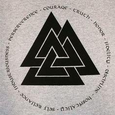 #Valknut #Odin #Víkingr #Viking #Asatru #Odinism #Pagan