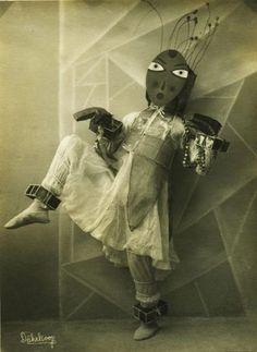 Expressionistische Tanzstudie Tanzbertchen der Tänzerin Lavinia Schulz, 1924