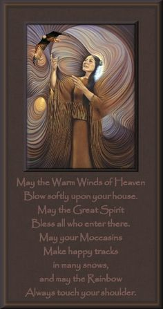 May the warm winds of heaven...