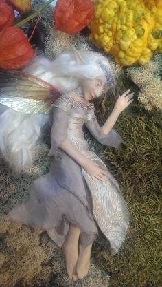 Little fairy resting after the Samhain party  alderworlds.com