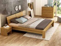 """Eichenschlafzimmer mit Bett aus Massivholz """"Hanna"""""""