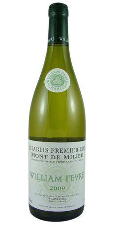 Chablis Mont de Milieu Premier Cru 2009 William Fevre from Burgundy Wine Cellar.